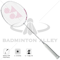 Yonex Isometric TR1 White 118g Training Badminton Racket