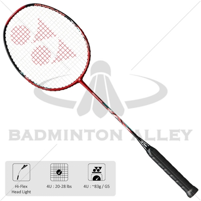Yonex NanoFlare Drive (NFDR) Red Black 4UG5 Badminton Racket