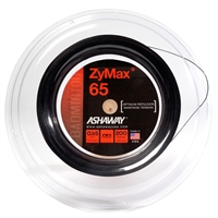 Ashaway ZyMax 65 (0.65mm) 200m/660ft Badminton String Reel - Black