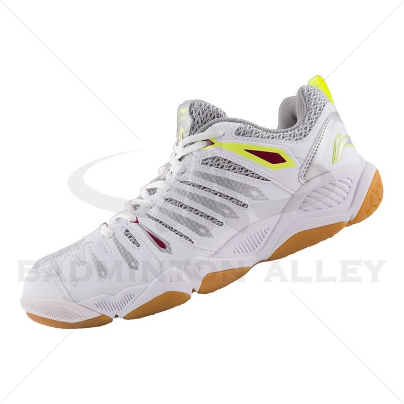 li ning lin dan hero 2 white professional men badminton shoes