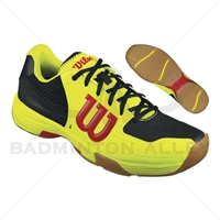 Wilson Recon Yellow Black Red Badminton Shoes