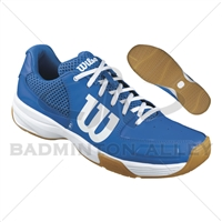 Wilson Storm Blue White Badminton Shoes
