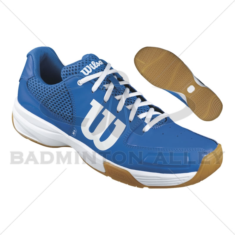 Wilson Storm Blue White Badminton Shoes Larger Photo 31b862b42
