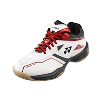 Yonex Power Cushion 36 Junior (SHB-36JR) White Red Badminton Shoes