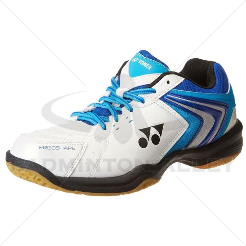 Yonex Power Cushion Shb 47ex White Blue Badminton Shoes