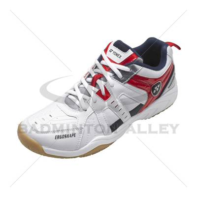 Yonex SHB-58EX White Red Badminton Shoes