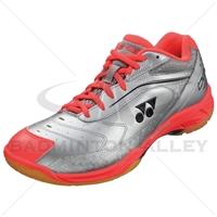 16b13605112b24 Yonex SHB-65EX Silver Badminton Shoes