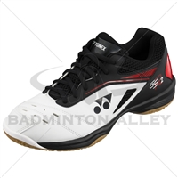 Yonex SHB-65R2 White Red Badminton Shoes