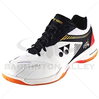 Yonex SHB-65X2W Wide White Black Badminton Shoes
