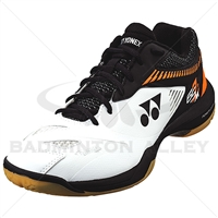 Yonex SHB-65Z-2 Men White Orange Badminton Shoes