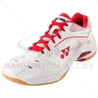 Yonex SHB-65ZL White High Red Women Badminton Shoes