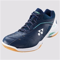 Yonex SHB-65Z WEX Wide Navy White Badminton Shoes