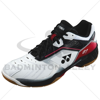 Yonex SHB-87EX Red Black Badminton Shoes