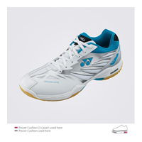 Yonex Power Cushion SHB-F1 LX (SHBF1LX) Aqua Blue Women Badminton Shoes