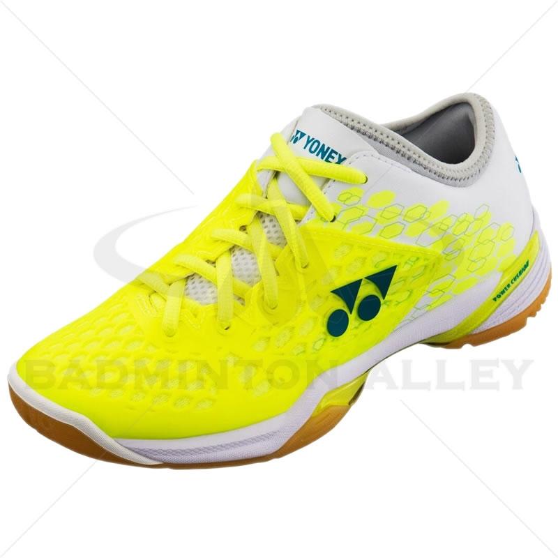 new images of classic wholesale sales Yonex SHB-PC-03 Z LX Yellow Ladies Badminton Shoes