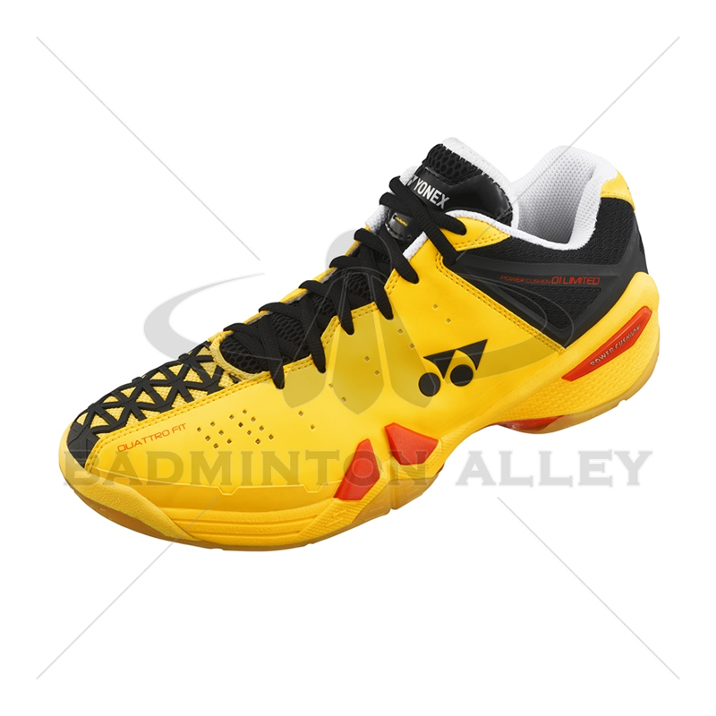 wide varieties hot sales promo codes Yonex SHB-PC-01 LTD Flash Yellow Badminton Shoes