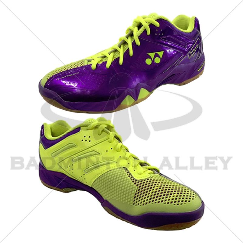 latest discount look good shoes sale huge inventory Yonex SHB-PC-02 LTD Purple Yellow Badminton Shoes