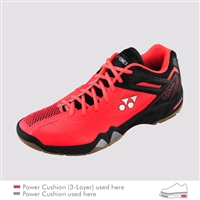 Yonex SHB-PC-02 LTD Bright Red Badminton Shoes