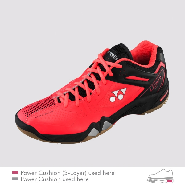 ee6c9eaf00b Yonex SHB-PC-02 LTD Bright Red Badminton Shoes Larger Photo