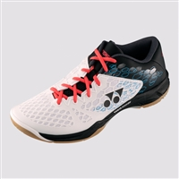 Yonex SHB-PC-03 (PC03) White Black Badminton Shoes