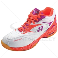 Yonex Power Cushion SHB-SC5LX Coral Orange Women Badminton Shoes