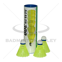 Yonex Mavis 300 Yellow (Medium Speed) Nylon Shuttlecock