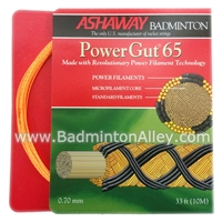 Ashaway Power Gut 65 Badminton String