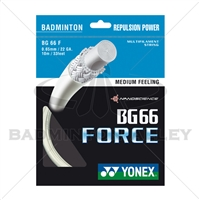Yonex BG-66 Force (BG66F) White Badminton String