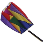 Rainbow Parafoil 5 Kite by Premier Kites. Line included.