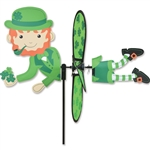 Leprechaun Petite Spinner with wings that spin with a gentle breeze.