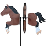 Bay Horse Petite Garden Spinner with wings that spin in a gentle breeze. All hardware included.