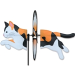 Calico Cat Petite Garden Spinner with wings that spin in a gentle breeze. All hardware included.
