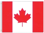 Nylon 3 feet by 5 feet Canadian Flag by Valley Forge.