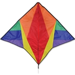Rainbow Gyro Delta Kite by Premier Kites. Line included.