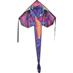 Sapphire Dragon Large Easy Flyer Kite by Premier Kites. Line included.