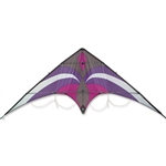 Purple and Gray Widow New Generation Sport Kite by Premier Kites. Line included.