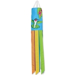40 inch Hummingbirds Applique Wind Sock by Premier Kites that sways in a gentle breeze.