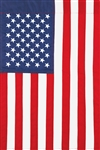 Applique American garden flag by Custom Decor.