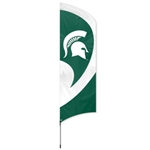 Michigan State 11 Foot Tall Team Banner by Party Animal.
