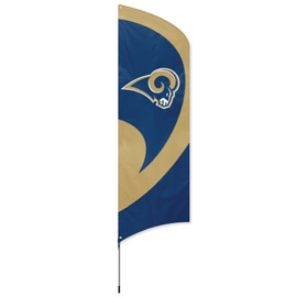 online retailer 059ea 7df6a LOS ANGELES RAMS NFL TALL TEAM FLAG KIT