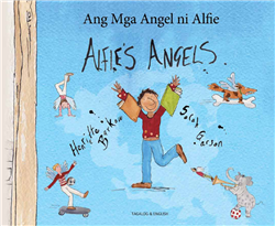 Alfie's Angels - Bilingual Children's Book in Arabic, Chinese, French, German. Portuguese, Russian, Spanish and many other languages. Inspiring story for diverse classrooms.