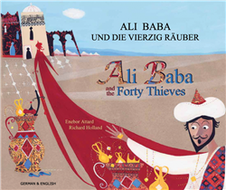 Ali Baba & The Forty Thieves - Bilingual Folktale Book in Albanian, Arabic, Bengali, Portuguese, and many other languages that are great to promote multiculturism