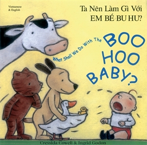 What Shall We Do With the Boo Hoo Baby? - Bilingual Book in Albanian, Panjabi, Turkish, Urdu, and others.  Albanian children's book