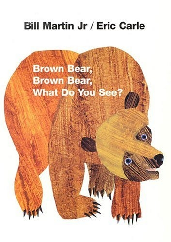 Brown Bear, Brown Bear, What Do You See? - Bilingual children's book for preschoolers and toddlers