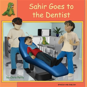 Sahir Goes to the Dentist - Bilingual book in Albanian, Chinese Traditional, French, Greek, Japanese, Polish, Spanish, Urdu, and more. Great children's book about diversity.