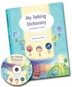 My Talking Dictionary is a bilingual illustrated picture dictionary. Great resource for teaching english as a second language or teaching foreign language. Interactive CDROM helps students learn a foreign language.