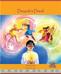 Deepak's Diwali - Bilingual children's book available in Arabic, French, Hindi, Nepali, Panjabi, Tamil, and many other languages. A children's book that helps celebrate diversity.