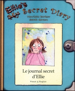 Ellie's Secret Diary - Bilingual Book in Albanian, Farsi, German, Italian, Japanese, Romanian, and many more languages. Children's book that teaches diversity in the classroom.