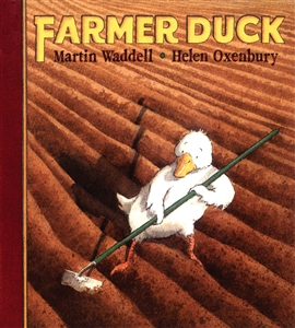 Farmer Duck - Bilingual Children's Book in Albanian, Bengali, Farsi, German, Italian, Nepali, Romanian, Yoruba and more. Multicultural books for kindergarten.