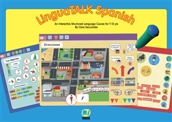 LinguaTalk Spanish Interactive Learning Charts